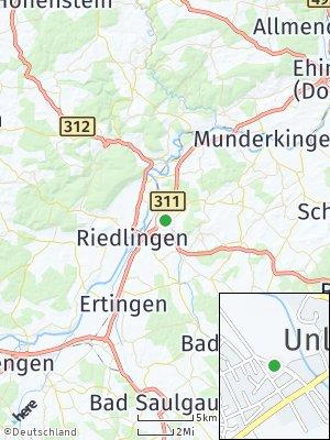 Here Map of Unlingen