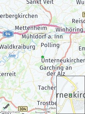 Here Map of Oberneukirchen