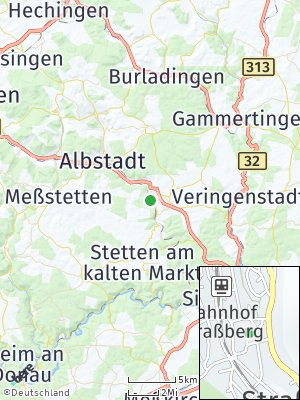 Here Map of Straßberg