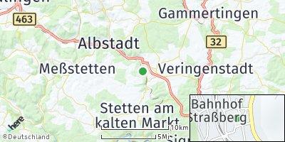 Google Map of Straßberg