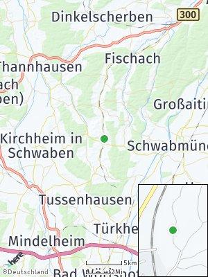 Here Map of Mittelneufnach