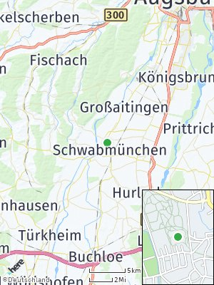Here Map of Schwabmünchen
