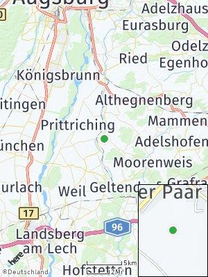 Here Map of Egling an der Paar