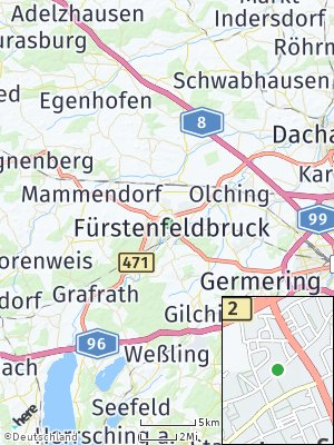Here Map of Fürstenfeldbruck