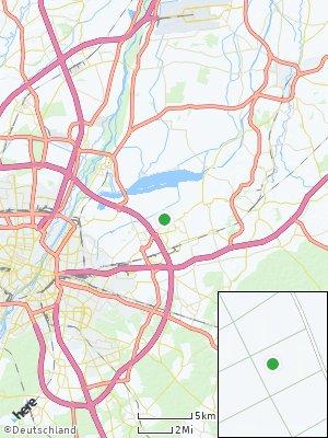 Here Map of Kirchheim bei München