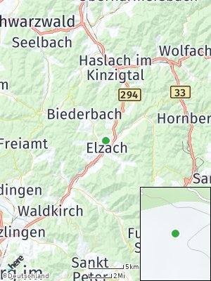 Here Map of Elzach