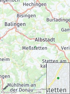 Here Map of Meßstetten