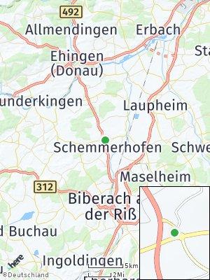 Here Map of Schemmerhofen