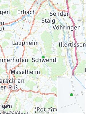 Here Map of Schwendi
