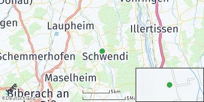Google Map of Schwendi