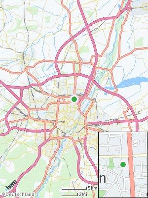Here Map of Milbertshofen-Am Hart