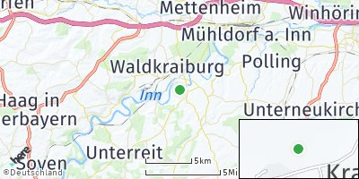 Google Map of Niederndorf am Inn