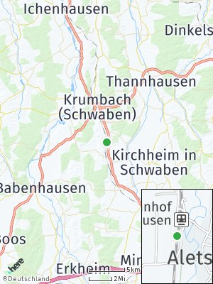 Here Map of Aletshausen