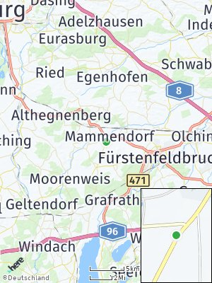 Here Map of Mammendorf