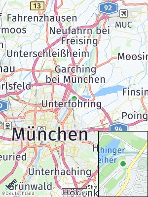 Here Map of Unterföhring