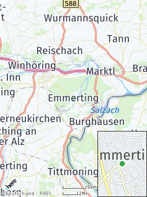 Here Map of Emmerting
