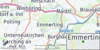 Google Map of Emmerting