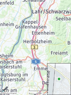 Here Map of Kenzingen