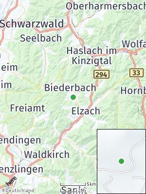 Here Map of Biederbach