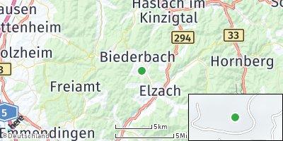 Google Map of Biederbach