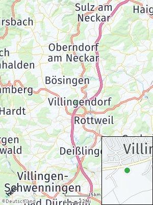 Here Map of Villingendorf