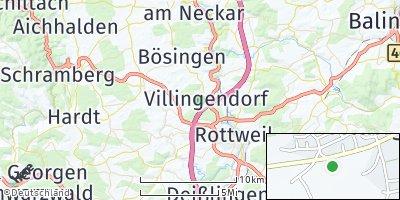 Google Map of Villingendorf