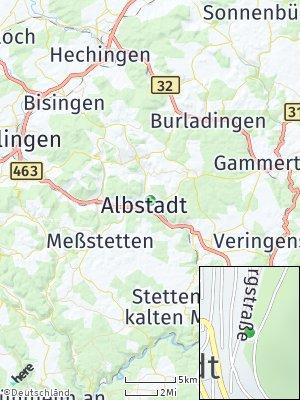 Here Map of Ebingen