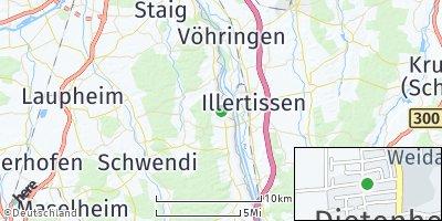 Google Map of Dietenheim
