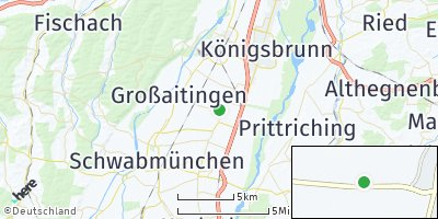 Google Map of Kleinaitingen