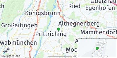 Google Map of Schmiechen