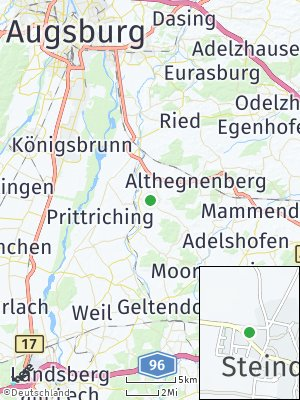 Here Map of Steindorf