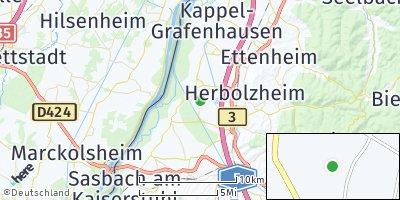 Google Map of Rheinhausen