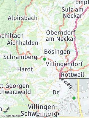 Here Map of Dunningen