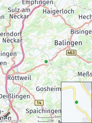 Here Map of Schömberg bei Balingen
