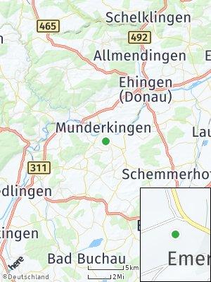 Here Map of Emerkingen