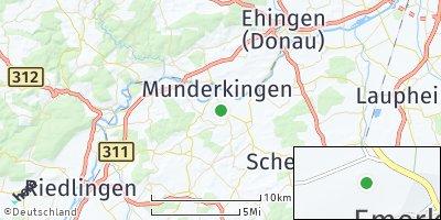 Google Map of Emerkingen
