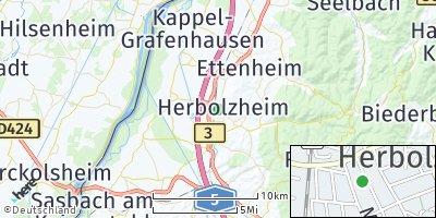 Google Map of Herbolzheim