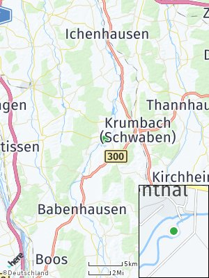 Here Map of Breitenthal bei Krumbach