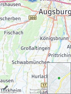 Here Map of Großaitingen