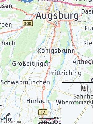 Here Map of Oberottmarshausen