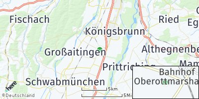 Google Map of Oberottmarshausen