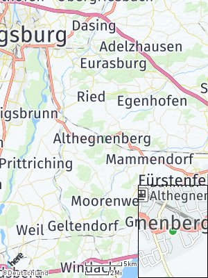 Here Map of Althegnenberg