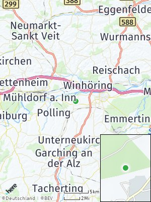 Here Map of Teising