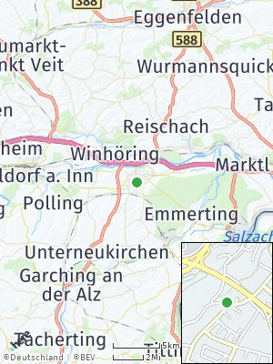 Here Map of Altötting