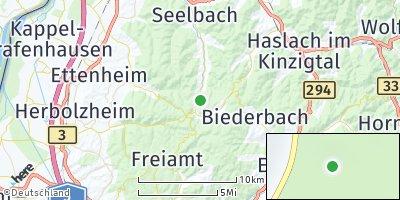 Google Map of Schuttertal