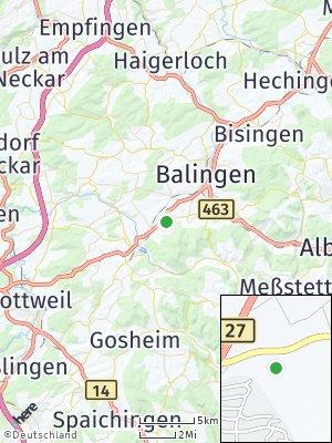 Here Map of Dotternhausen