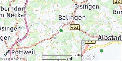 Google Map of Dotternhausen