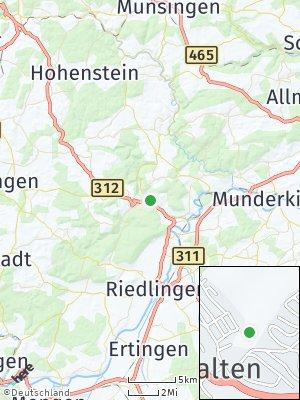 Here Map of Zwiefalten
