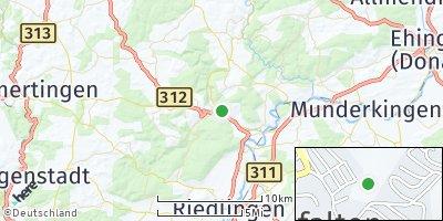 Google Map of Zwiefalten