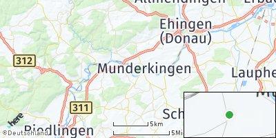 Google Map of Munderkingen